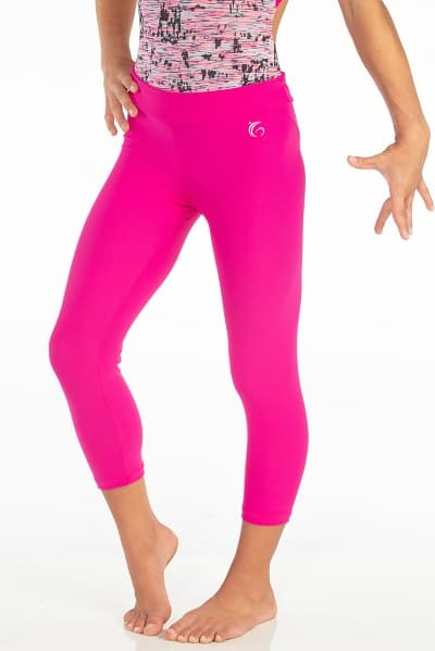 8a0b867868637 Softy Spandex Capri Leggings | Garland Activewear